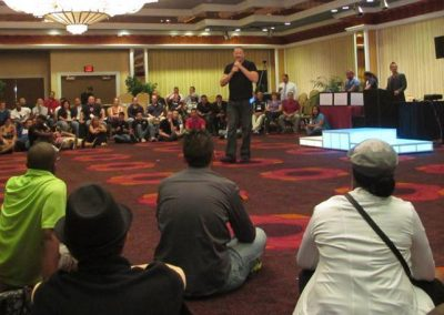 I have performed my Game Seminar for the DJ Times Conference in Atlantic City for the past 12 years. It is always the most well attended seminar of the conference.