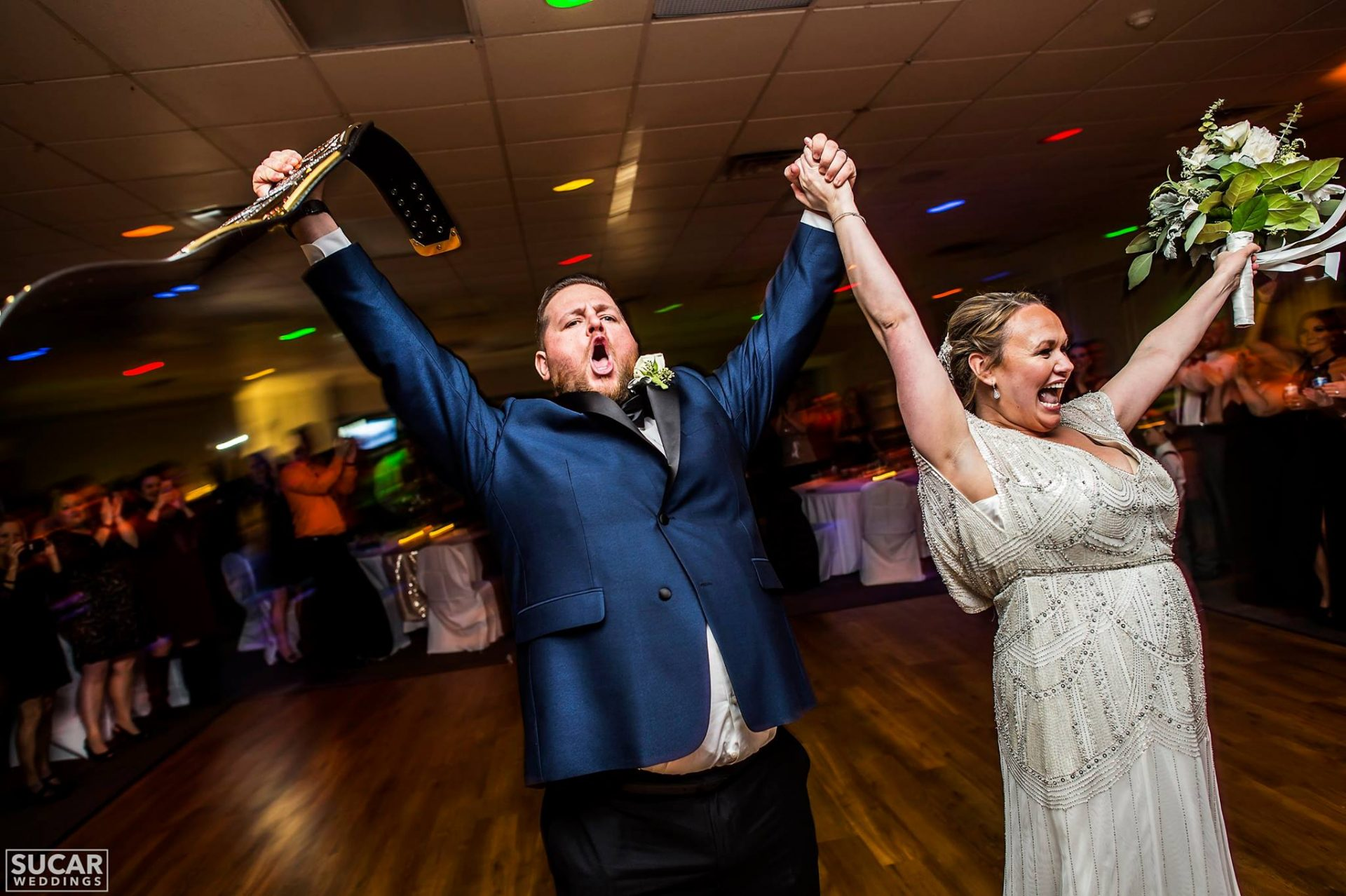 """We were lucky to have Jake and A2R Entertainment be a part of our special day, and will continue to recommend them over and over!"" - Lauren & Crawford"